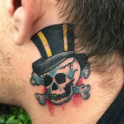 Skull Tattoos Tattoo Neck Designs Tatoos Simple