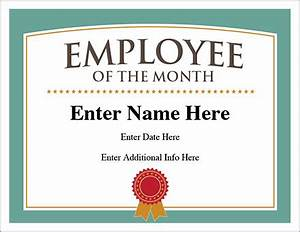 employee of the month certificate template with picture - employee of the month certificate free award certificates