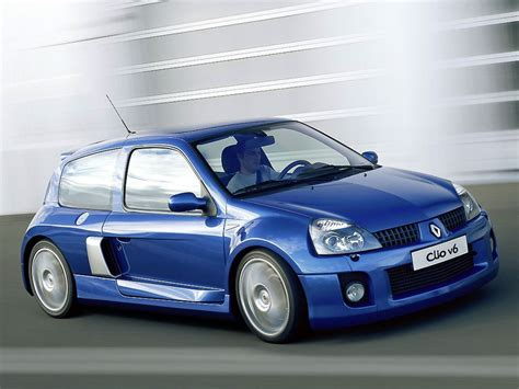 Renault Clio V6 Technical Details, History, Photos On
