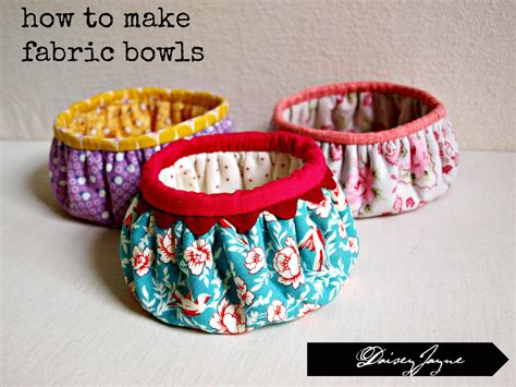 how to make a with cloth diy fabric bowls chalk mercantile