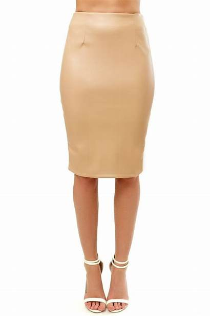 Skirt Pencil Odella Pu