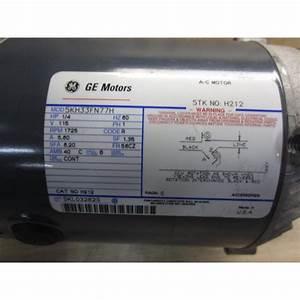 General Electric 5kh33fn77h Ac Motor H212