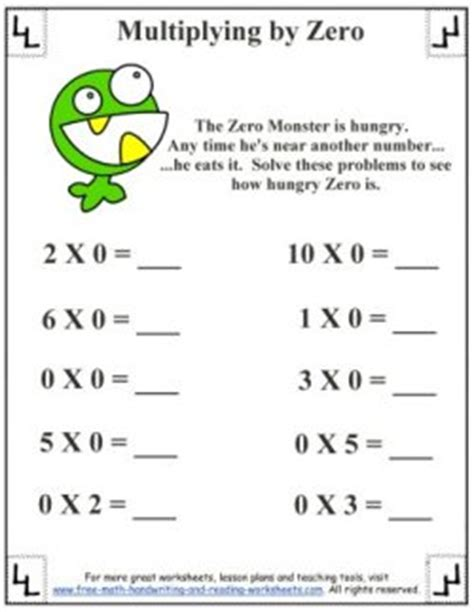 learning multiplication facts and rules