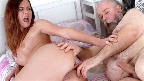 Several Old Man On Twins Anal $8