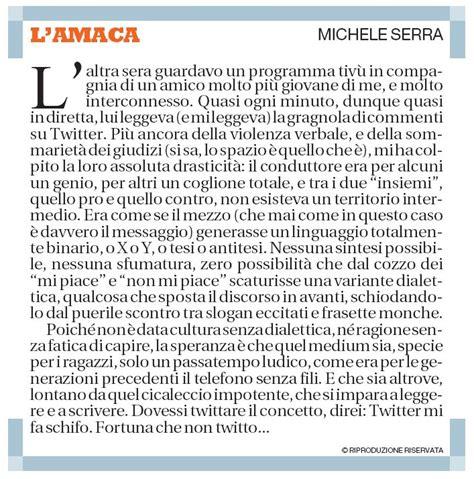 Amaca Di Serra by Michele Serra E Il Popolo Web La Penultima Verit 224