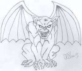 easy outlines of animals gargoyle drawing k91616 2017 aug 19 2012