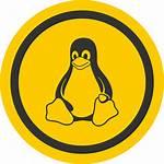 Linux Tux Icon Duper Svg Badge Clip