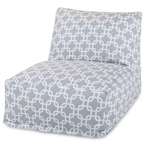grey links outdoor bean bag chair dfohome