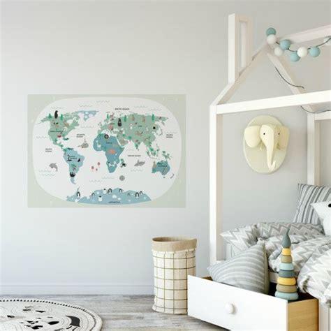 carte du monde murale 17 meilleures id 233 es 224 propos de carte murale du monde sur chambres plans et