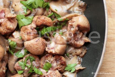 comment cuisiner des rognons de veau comment cuisiner rognons de veau