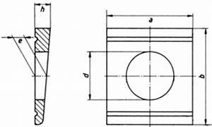 U Profil Trockenbau Maße : din 6918 scheiben vierkant keilf rmig 8 f r hv ~ A.2002-acura-tl-radio.info Haus und Dekorationen