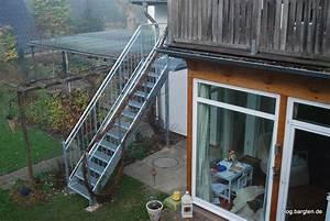 Fertig Wintergarten Preis : au entreppe vom balkon in den garten bargten19 ~ Whattoseeinmadrid.com Haus und Dekorationen