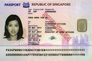 Additional security features for new biometric passport ...