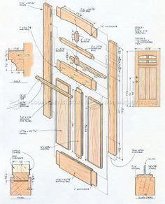 front door plans door construction puertas de