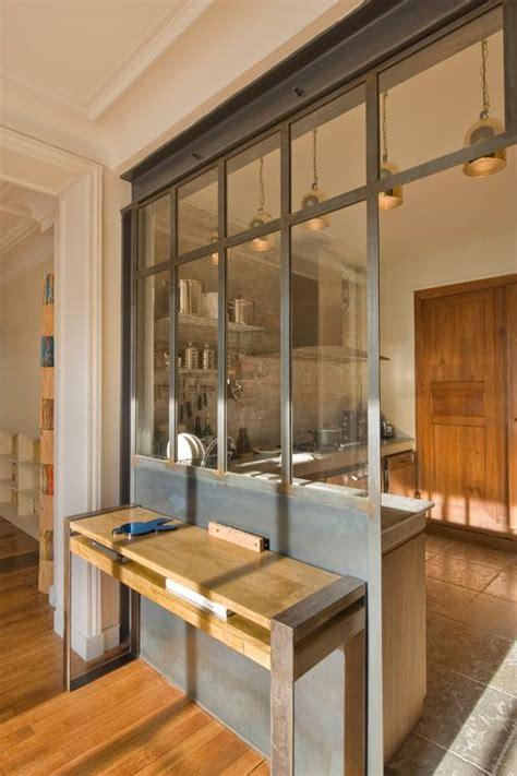 cuisine style industriel loft la verrière dans la cuisine 19 idées photos