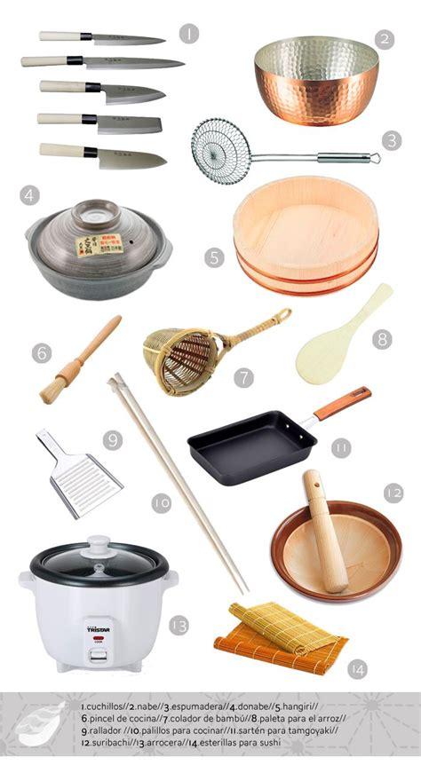 cooking kitchen japanese utensils tools asian supplies sushi cuisine equipment traditional food items cocina para utensilios comida japonesa beginners articulo