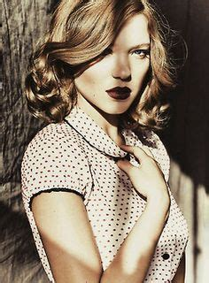 spain actress kiss lea seydoux seduces in lui magazine relaunch lensed by