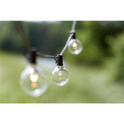 home depot outdoor hanging lights 10 light outdoor clear hanging garden string light kf19001