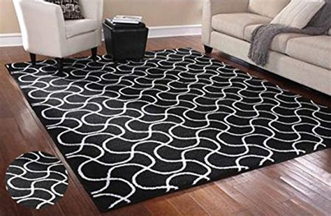 Black And White Rugs For Living Room