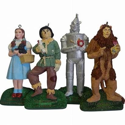 Wizard Oz Christmas Adler Kurt Ornaments Four