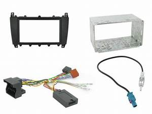 Dash Kit Harness And Antenna Adapter Br Mercedes C Class W203 04 07 Connects2 Ctkmb01