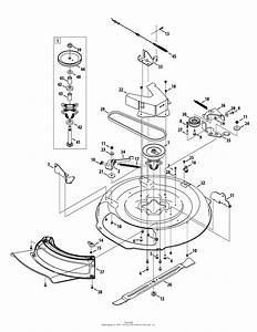 Mtd 13a226jd099  247 25000   2012   Rer1000  2012  Parts Diagram For Deck Assembly