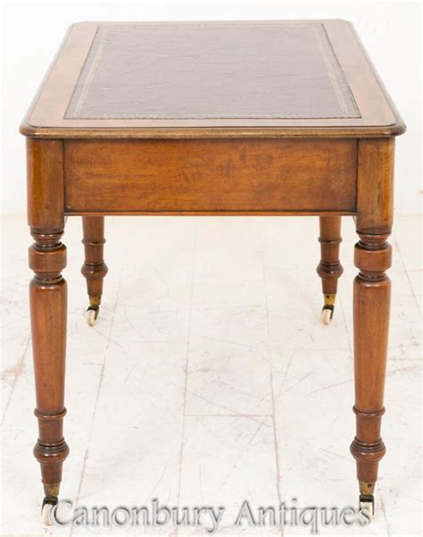 table bureau writing table desk mahogany tables bureau