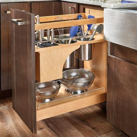 how to kitchen cabinets rev a shelf 448kb 11 quot organizer w knife block bins 7362