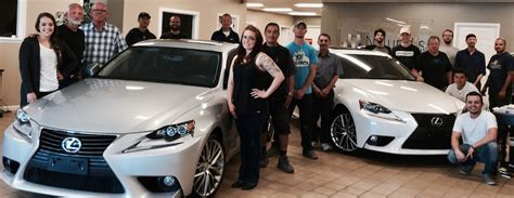 Lexus Body Shop Owns Denver Repair Category