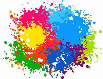 Splash Paint Transparent Frame Clipart Colour Graphic