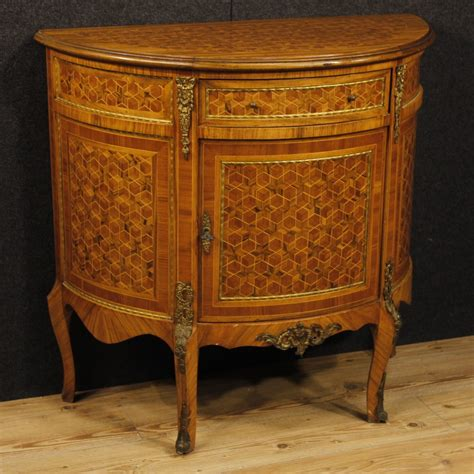 Sideboards For Sale by Inlaid Demilune Sideboard For Sale Antiques