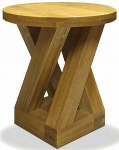 buy homestyle gb z oak designer lamp table round 4 leg With zed lamp table