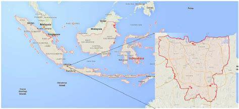 map  indonesia  land area  jakarta city