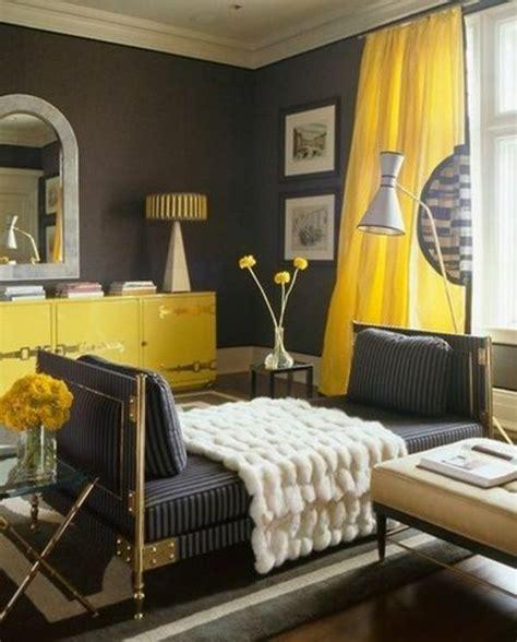 Schlaf Und Wohnzimmer Kombinieren by Wandfarben Ideen F 252 Rs Schlafzimmer Gelb Und Grau