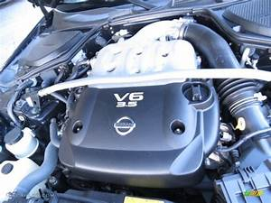 2004 Nissan 350z Touring Roadster Engine Photos