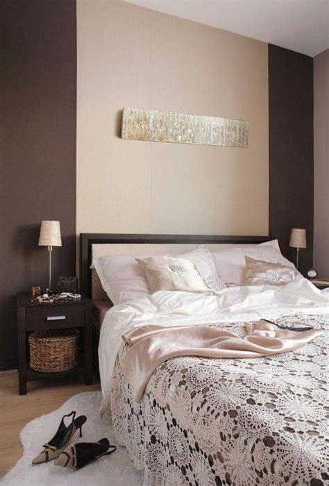 chambre a coucher peinture peinture chambre beige et marron chaios com