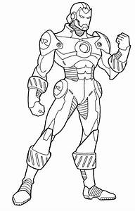 Free Printable Ironman Coloring Pages The Tony Stark