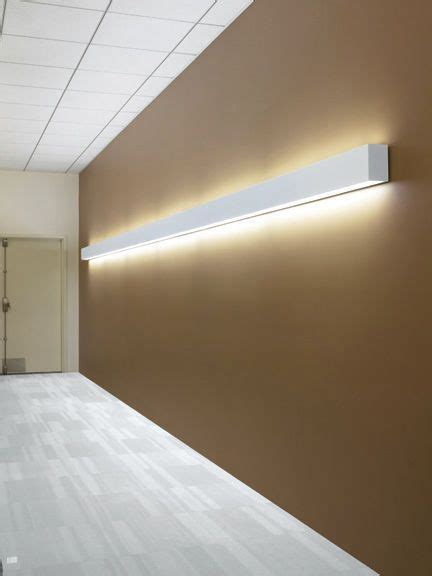 surface mounted light fixture recessed wall fluorescent linear mod 46 indirect direct