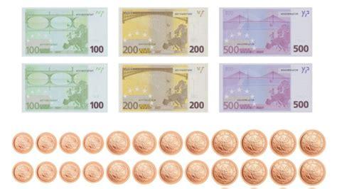 Hier finden sie kostenloses spielgeld zum ausdrucken. Bundesbank verschenkt Spielgeld: Scheine und Münzen ...
