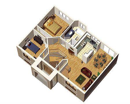 plan pm simple split level home plan dreams