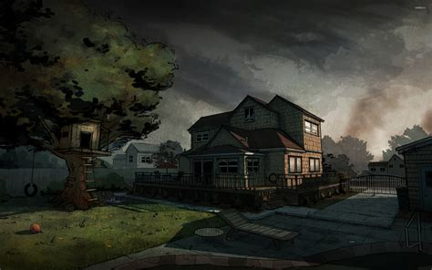 walking dead game wallpaper wallpapersafari
