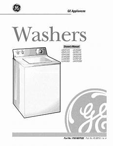 Ge Washer 175d1807p283 User Guide