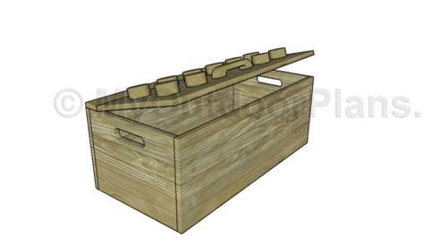 wooden toy box plans myoutdoorplans  woodworking