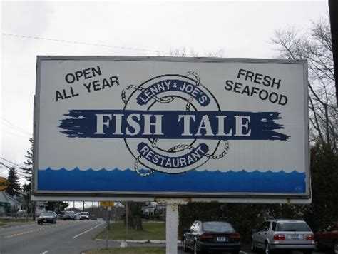 lenny joes fish tale  broiled  fried seafood story