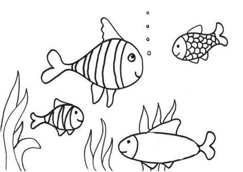 Coloring Gambar Ikan by Contoh Gambar Mewarnai Ikan Gambar Diwarnai Fish