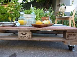 Faire Une Table Basse En Palette : transformer une palette en une superbe table basse 53 id es ~ Dode.kayakingforconservation.com Idées de Décoration