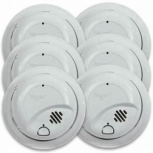 First Alert 9120b6cp Hardwired Smoke Alarm With Battery