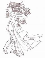 Tango Ballroom Anime Dancing Coloring Deviantart Welcome Sm Pages Template Dancers Sketch Templates sketch template