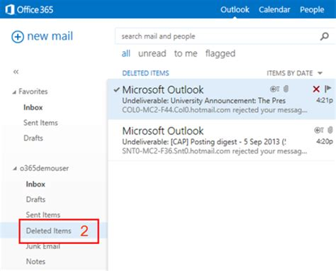 Office 365 Outlook Deleted Items by Frequently Asked Questions On Office 365 Computing