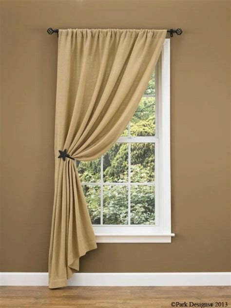 lacebut  love  pulled   side    curtains farmhouse window treatments
